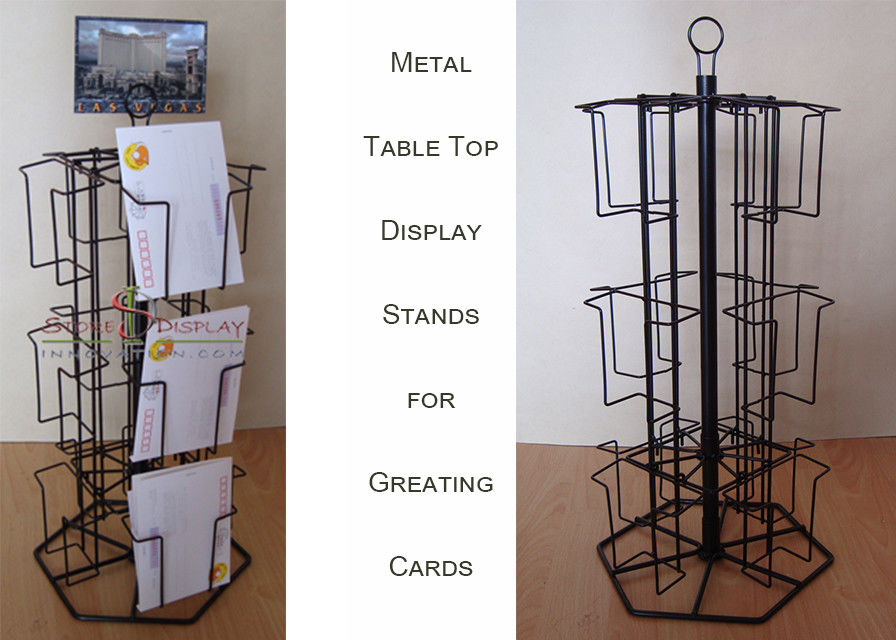 12 Wire Card Display Racks